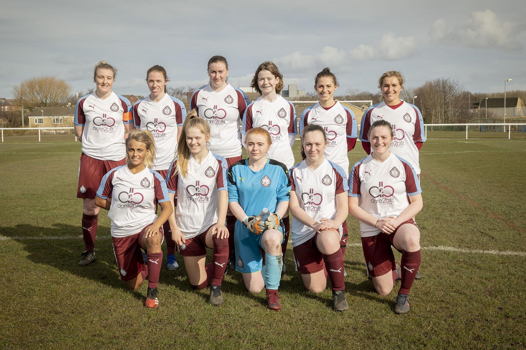 Team photo South Shields FC Ladies